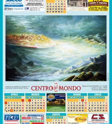 Centro del Mondo calendario 2018