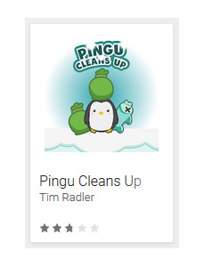Pingu Cleans Up